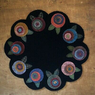 "Wool Applique Kit ""Floral Penny Garden"""