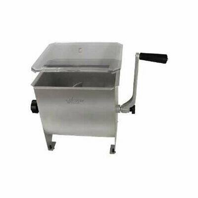 Weston 20Lb Stainless Steel Manual Meat Mixer Model# 36-1901-W