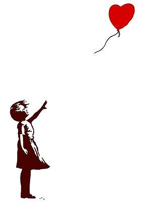 Quality Banksy Art Prints Photo Print (Girl With Balloon)/