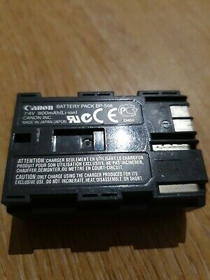 Genuine Canon BP-508 Battery Pack 7.4v