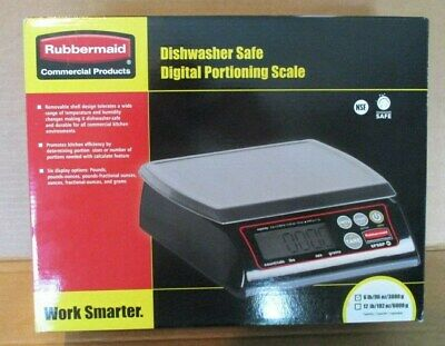 Rubbermaid  6 LB. Digital Portioning Scale 1812593