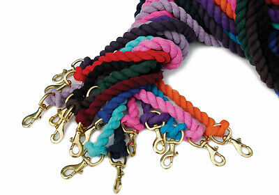 Sale Now On Job Lot Of New Clip Lead  Ropes X 8 Mixed Colour  Post Out For £4.50