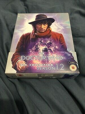 Doctor Who The Collection Season 12 - Limited Edition (Blu-ray, 2018)- ( 6 DISC)