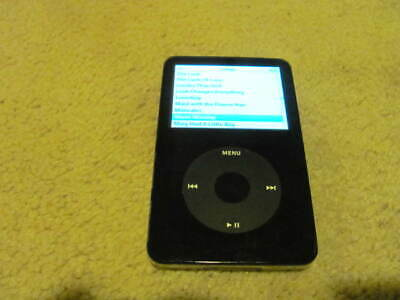 Lot of 2 UNTESTED #hSen 30 GB Apple iPod Classic Black 5th Gen Model A1136