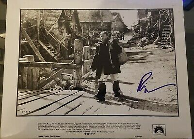 Robin Williams Signed 8x10 Popeye