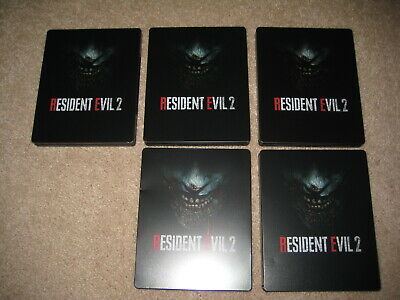 PS4 / Xbox One: Resident Evil 2 Remake Steelbook Case x 5 (Dented)