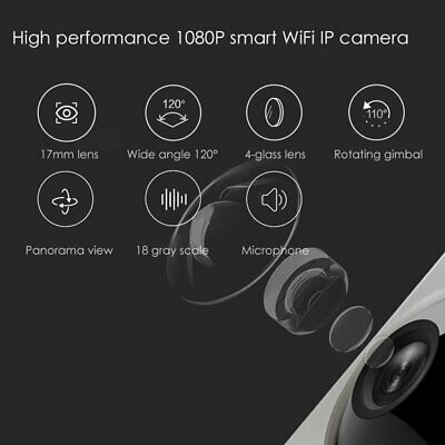 1080P Smart IP Camera WiFi PTZ HD Motion Detection C&K