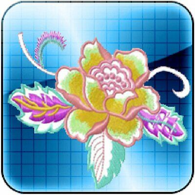 Rich Embroidery Digitizing ES Version 6 Software Program Register by serial
