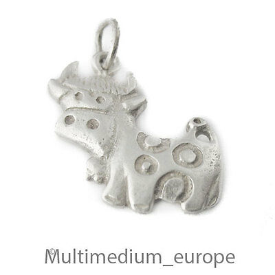 Charms Sterling Silber Anhänger Kuh silver pendant cow 925