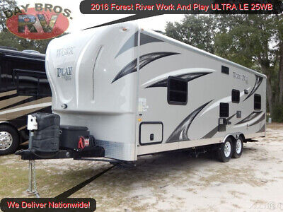 16 Forest River Work And Play ULTRA LE 25WB RV Camper Towable Toy Hauler