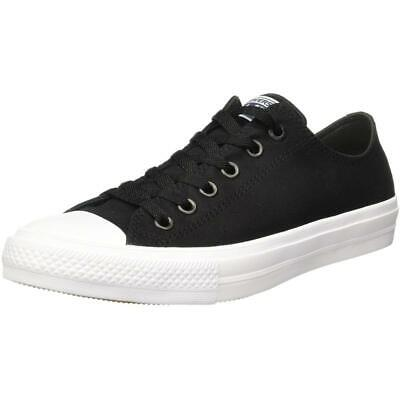 49999a134472 Converse Chuck Taylor All Star II Ox Noir Textile Adulte Formateurs  Chaussures