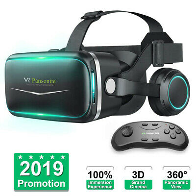 3D Virtual Reality Gaming PC VR Headset Movie VR Game Glasses for Mobile Phone