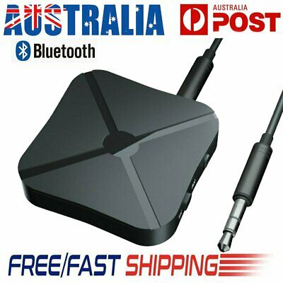 Wireless Bluetooth Music Audio Transmitter Car Receiver HIFI MP3 Adapter RCA AUX