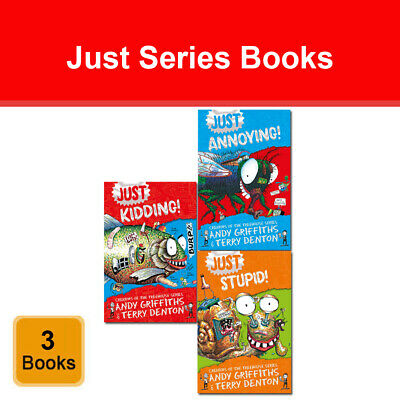 The 13, 52, 65-Storey Treehouse 3 Books Set by Andy Griffiths and Terry Denton