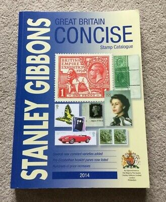 STANLEY GIBBONS Great Britain Concise Stamp Catalogue 2014 Excellent Condition