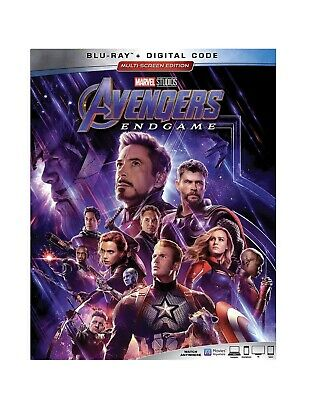 Avengers Endgame Blu Ray+ Digital With 4 Collectible Lithographs Preorder August