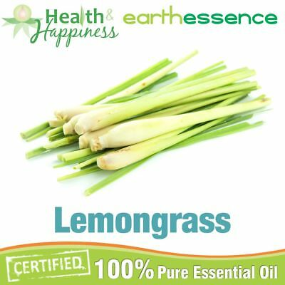 LEMONGRASS ~ earthessence Certified 100% Pure Essential Oil ~ Aromatherapy