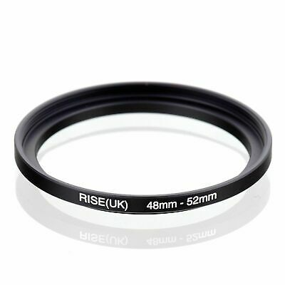 48-52mm 48mm-52mm 48 to 52 Step-Up Filter Ring Stepping-up Adapter