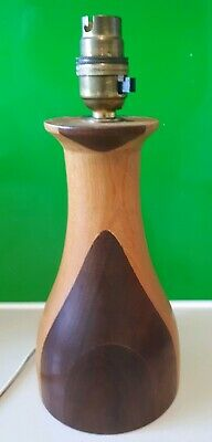 Mid Century Modern Vintage Wooden Table Lamp base