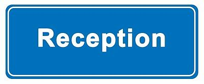 RECEPTION - Information Self Adhesive Labels 100mm x 148mm 12ct