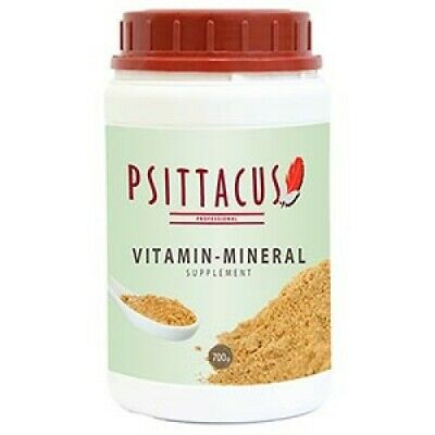 Psittacus  Parrot Vitamin-Mineral Supplement For Seed Eating Species 700G