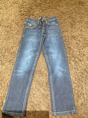 Genuine Boy's Jasper  Dark Blue Jeans Size 7 Years