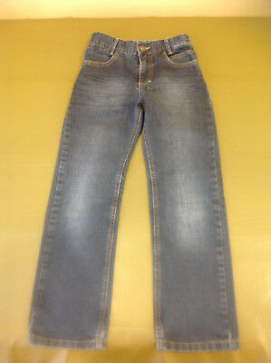 "Boy's Ted Baker Blue Straight Jeans Size 7 Years Approx W 20 inch 23"" Inside Leg"