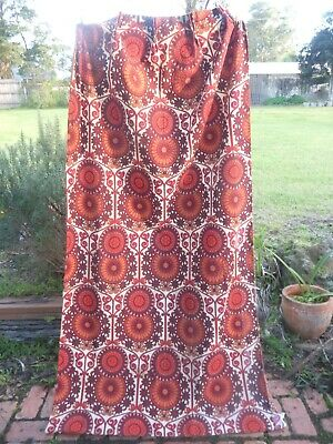 BARKCLOTH  TRINIDAD by SHERIDAN        RETRO VINTAGE FABRIC