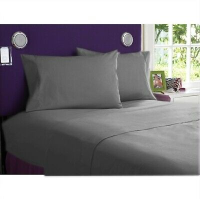Royal Bedding 1000 Count Egyptian Cotton AU Sizes Grey Solid Select Item