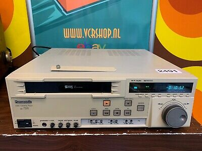 Panasonic AG-7350 SVHS Video Player Professional Super VHS