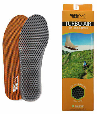 Nord Trail Turbo Air High Rebound Insoles for all shoes