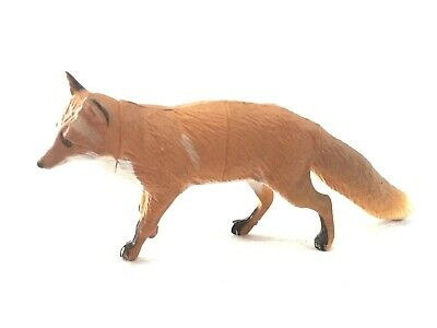 Japan Furuta Kaiyodo Northern Red Fox Miniature Animal Realistic Mini Figure