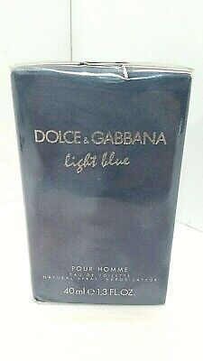 Dolce & Babbana Light Blue Living Stromboli Pour Homme  1.3 Oz Edt Exp 01/20