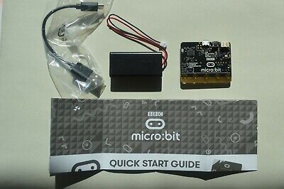 BBC Micro- Bit Pocket Sized Codeable Computer Starter Kit New  Free Postage