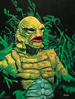 The Creature from the Black Lagoon 18x24 Print
