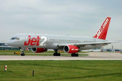 Jet2.com 757 at Luton Mounted Aviation Print 8 x 10 inch