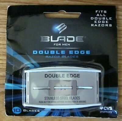 Blade for Men Traditional Double Edge Shave Safety Razor ~ 10 Blades. USA seller