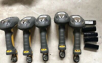 Lot of 5x Symbol DS3578-SR20115WR Wireless Barcode Scanners With Batteries Only