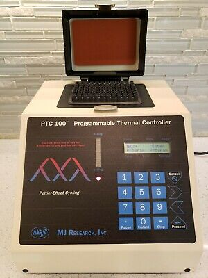MJ RESEARCH PTC-100 PROGRAMMABLE THERMAL CONTROLLER THERMAL CYCLER 96-Well