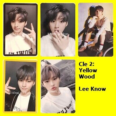 Stray Kids photocard album Yellow Wood Official Photo card  : LeeKnow