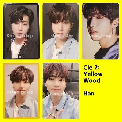 Stray Kids photocard album Yellow Wood Official Photo card  : Han