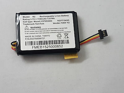 Replacement Battery For Tom Tom  Go 500 Model P6