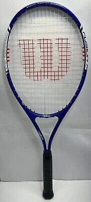 Wilson Fusion XL VMatrix Tennis Racket Adult Over Sized Head 4 3/8