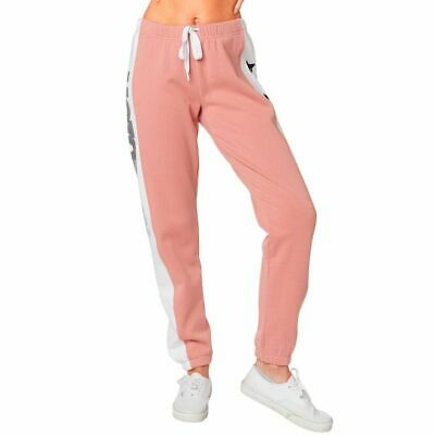 NEW Fox MX Team Fox Blush Womens Fleece Motocross Winter Lifestyle Pants