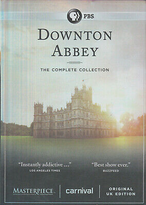 DOWNTON ABBEY: The Complete Collection (DVD 2016) (E3)