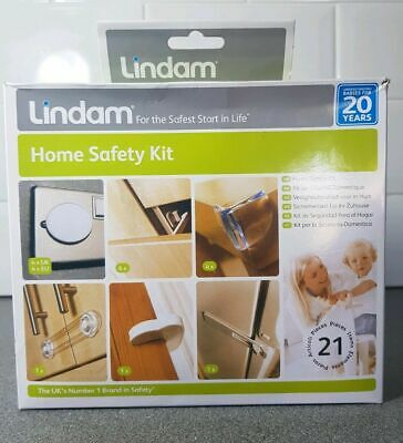 "Lindam Home Safety Kit 21 pcs ""for the safest start in life"""