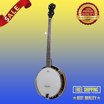 Jameson Guitars 5-String Banjo 24 Bracket with Closed Solid Back and Geared 5th