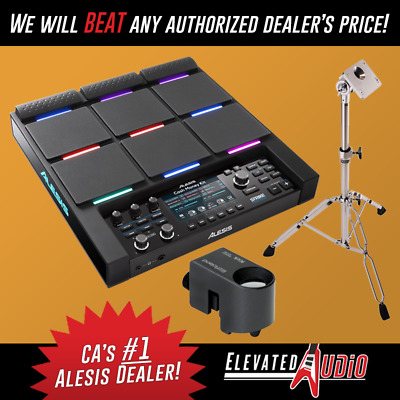 Alesis Strike MultiPad Controller + Roland RT-30K Trigger & USED PDS-10 Stand!