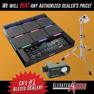 Alesis Strike MultiPad Controller + Roland RT-30HR Trigger & USED PDS-10 Stand!
