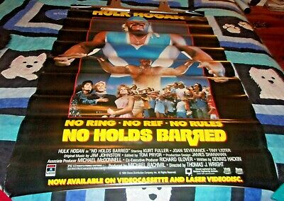 R271 No Holds Barred Movie 1989 Action-Print Art Silk Poster